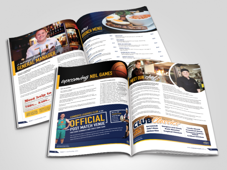 Cowboys Leagues Club: Momentum Magazine
