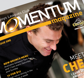 Cowboys Leagues Club: Momentum Magazine - Cover