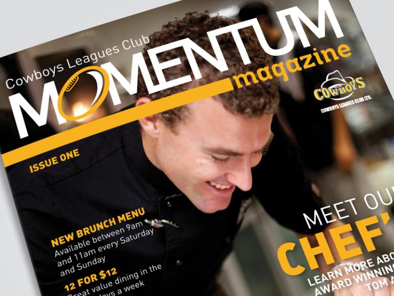 Cowboys Leagues Club: Momentum Magazine