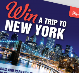 Win a trip to New York Campaign - Brochure