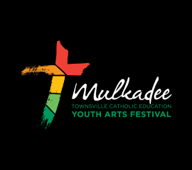 Townsville Catholic Education Office: Mulkadee Logo Reversed
