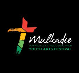 Townsville Catholic Education Office: Mulkadee Logo Reversed
