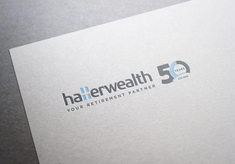 Hallerwealth 50 year branding